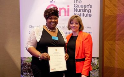 Creator of Tune In To Your Baby awarded Outstanding Service award by The Queen