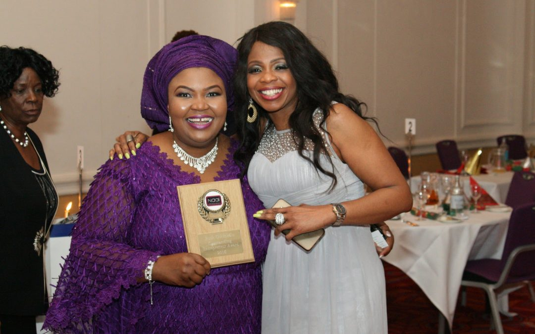 Ruth Oshikanlu conferred with NAAI Outstanding Entrepreneur 2016 Award
