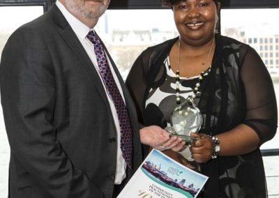 Community Practitioner Health Visitor Association 2014 Award - Ruth Oshikanlu